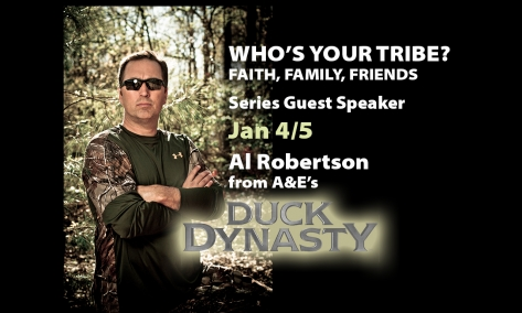 Duck Dynasty's Al Robertson @ The Compass Church Jan 4 - 5, 2014