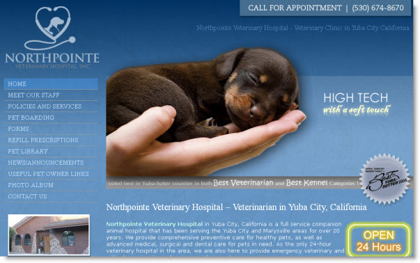 Northpointe Veterinary Hospital - Yuba City, CA