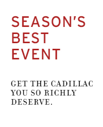 Cadillac Season's Best Event - Rickenbaugh
