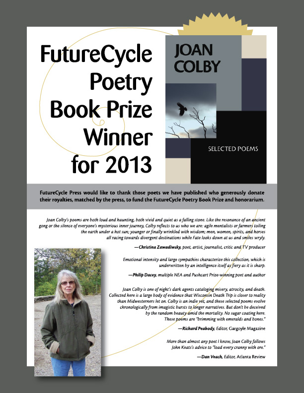 2013 FutureCycle Poetry Book Prize Announcement