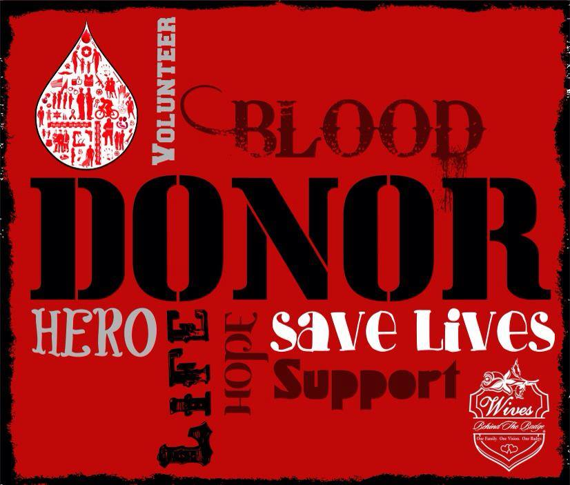 Jan - national blood donor month