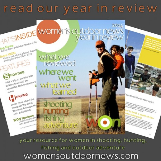 Julie Golob appears on the cover of the 'Year in Review'