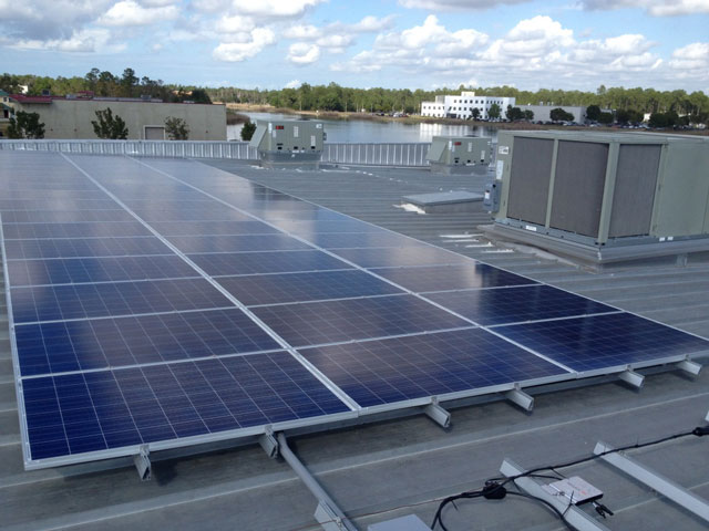 51 Panel Solar Array (of 153 Total)