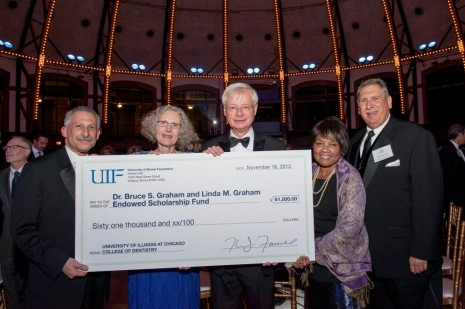 A scholarship named for Bruce and Linda Graham was established at UIC.