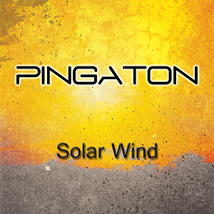"""Solar Wind"" by Pingaton (CD cover)"