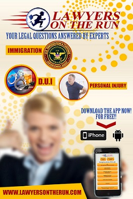 Personal Injury App . Lawyers On The Run