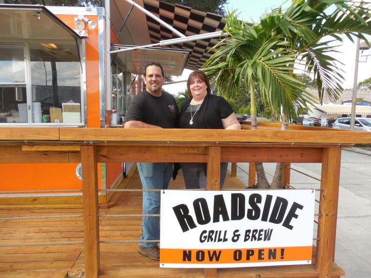 Tracy and Enrique Zuluaga of Roadside Grill
