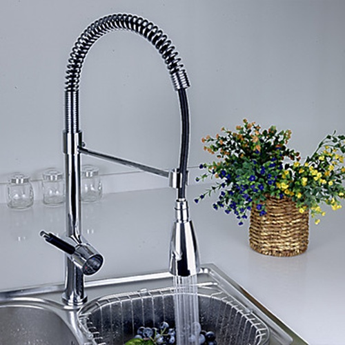 Pull-down Kitchen FaucetS With Color Changing LED Light