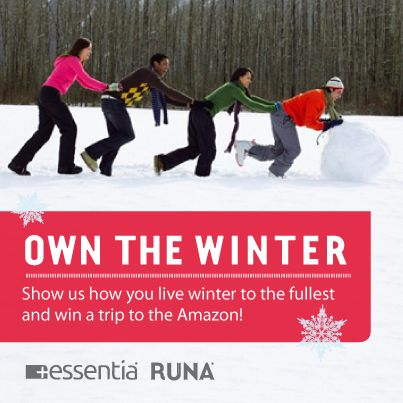 "Essentia Water and Runa ""Own the Winter"" Contest"