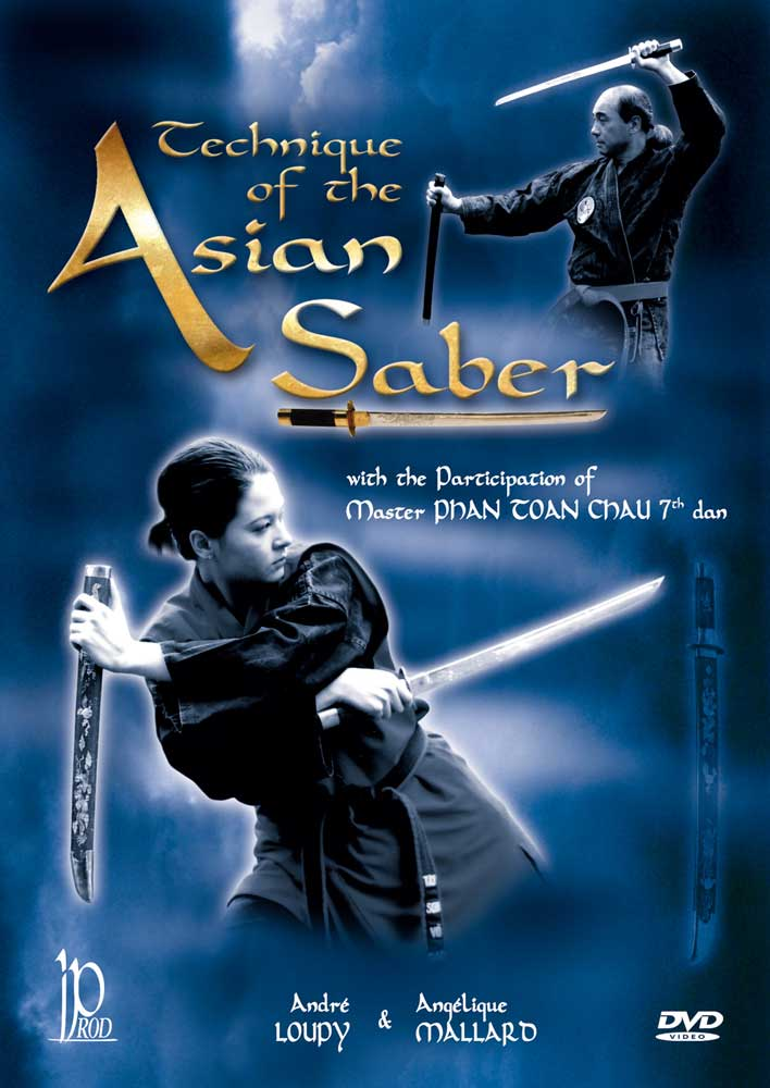 Technique of the Asian Saber Sword DVD