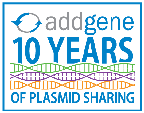 Addgene Celebrates Its 10 Year Anniversary