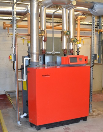 Remeha boilers at Leahurst Campus, Liverpool University