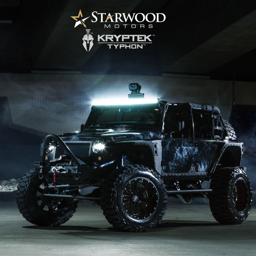 Starwood Motors Creates A One Of A Kind Jeep To See What
