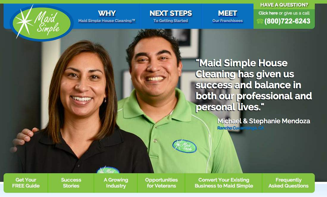 Maid Simple House Cleaning New Website