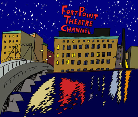 Fort Point Theatre Channel logo