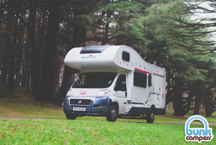 Bunk Campers Grande Motorhome for hire