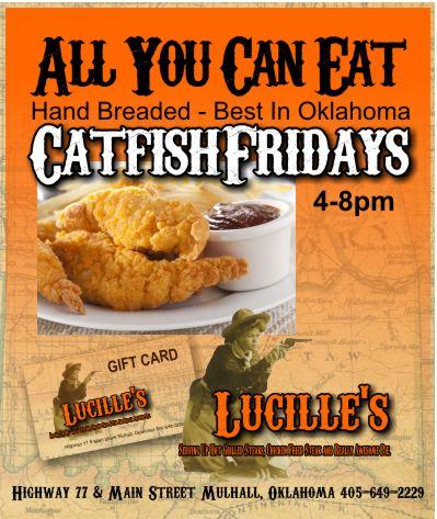 Hand Breaded Catfish Fridays