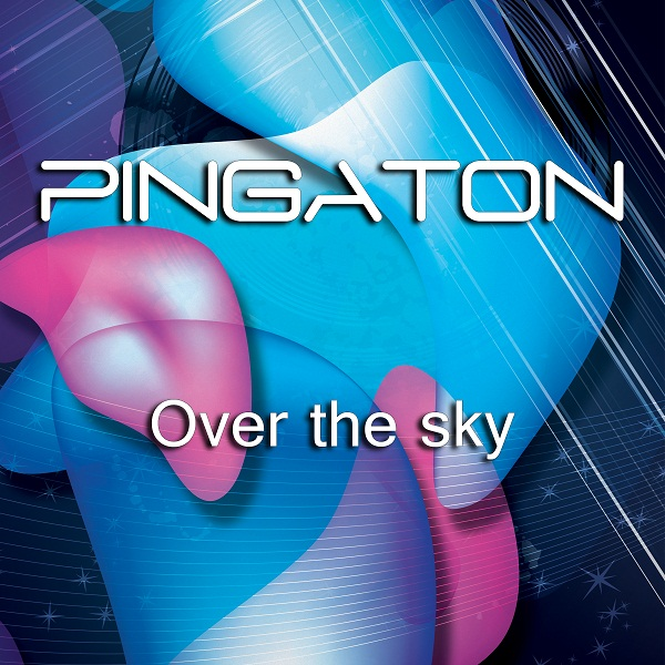 """Over the sky"" by Pingaton (CD cover)"