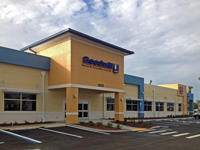 The new Goodwill Retail & Donation Center in Lehigh