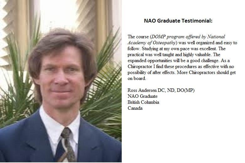 NAO Graduate testimonial Dr Ross Andersen