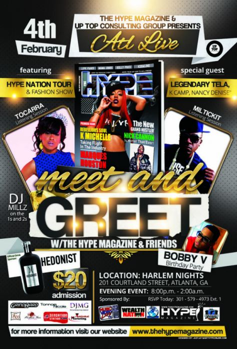 The Hype Magazine Meet and Greet
