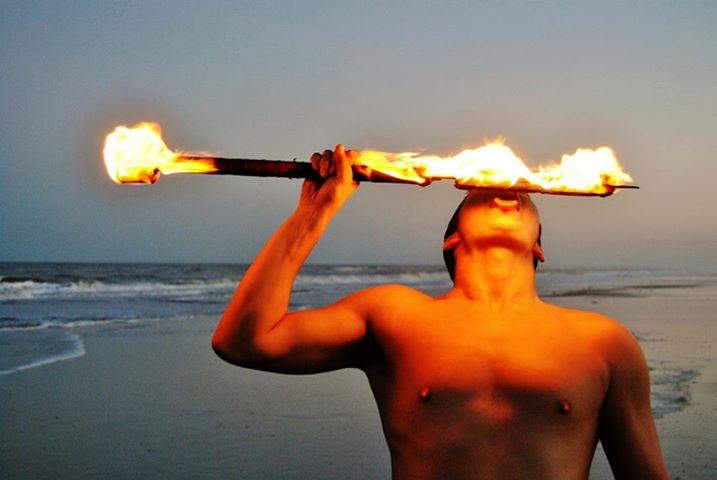 Brevard Hawaiian Dancers (Halau 'Ilima O Pololika) Fire Dancer