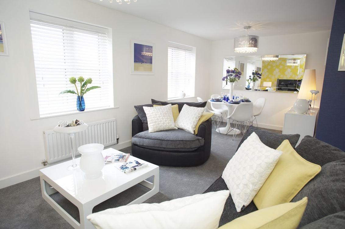Lounge Diner at Miller Homes' Flaxton Court Development in Bradford