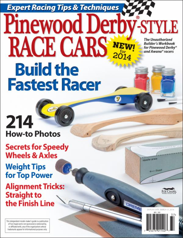 New Guide to Building Prize-Winning Wooden Race Cars