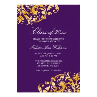 Graduation Invitation Wording for luxury invitations example