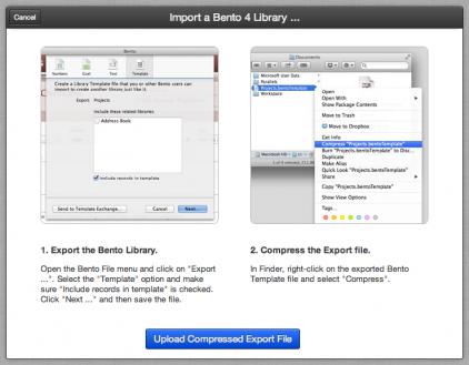 Import Screenshot