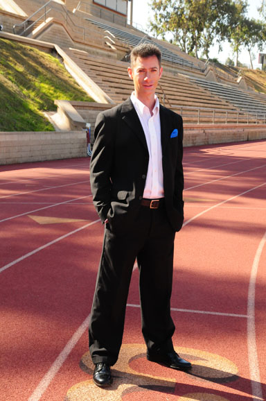 Dr. Jason Karp is the new head track and field coach at La Jolla High School