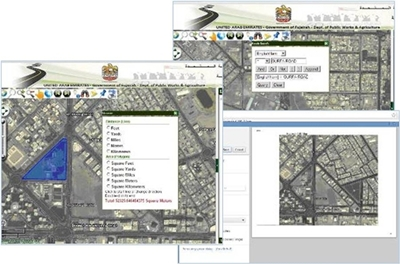 The GIS e-Map Application for Public Works Develop
