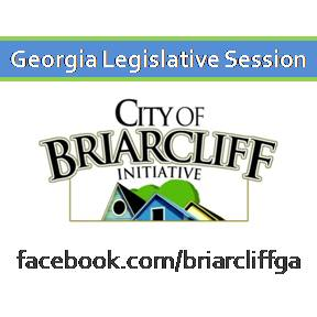 The Georgia Legislative Session is a short session lasting 40 days.