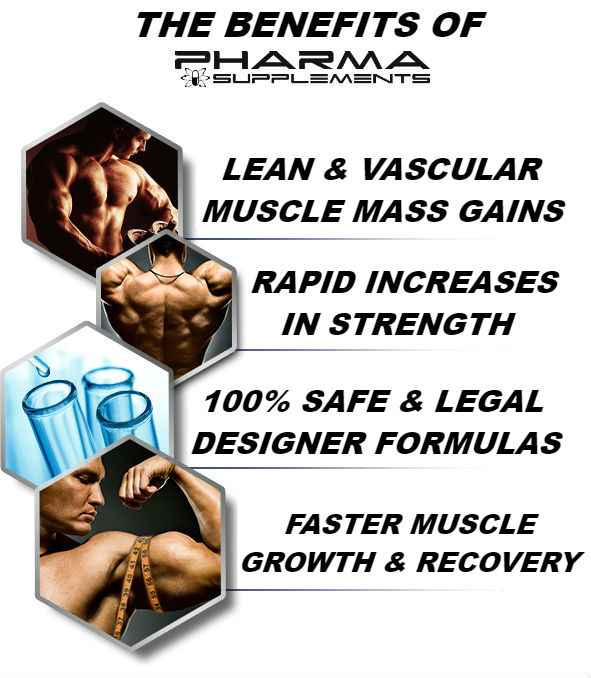 Safe & Effective Muscle Builders and Fat Burners