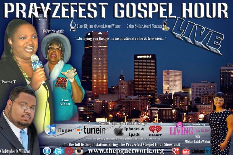 Prayzefest Gospel Hour LIVE