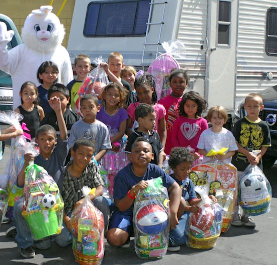 Donate an Easter basket to a child in need before April 11, 2014!