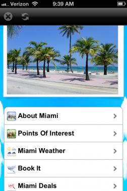 City Guide Wiki Miami App