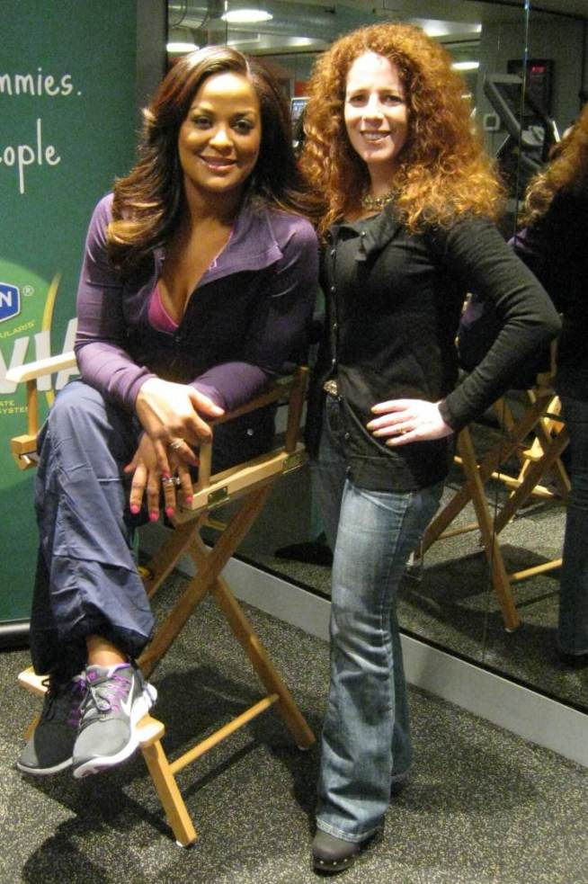 Laila Ali speaks candidly with Carol Ruth Weber