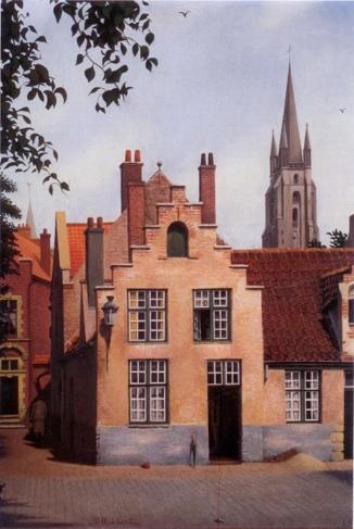 Flemish landscape, 1972