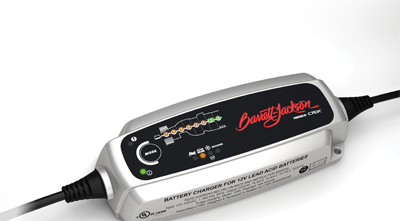 Official Barrett-Jackson Powered by CTEK Battery Charger and Maintainer