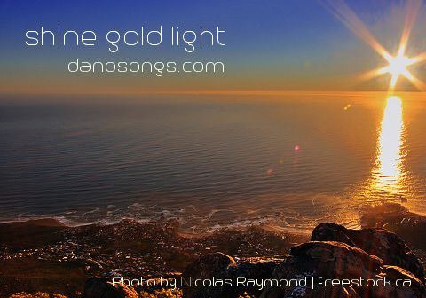 Shine Gold Light - Inspirational Music