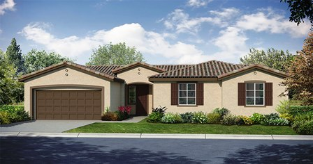 Desert Trace in Indio, CA by Woodside Homes.
