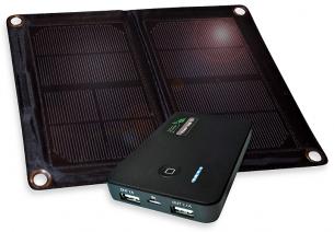 6 Watt Folding Solar Charger with Power Bank 5.0