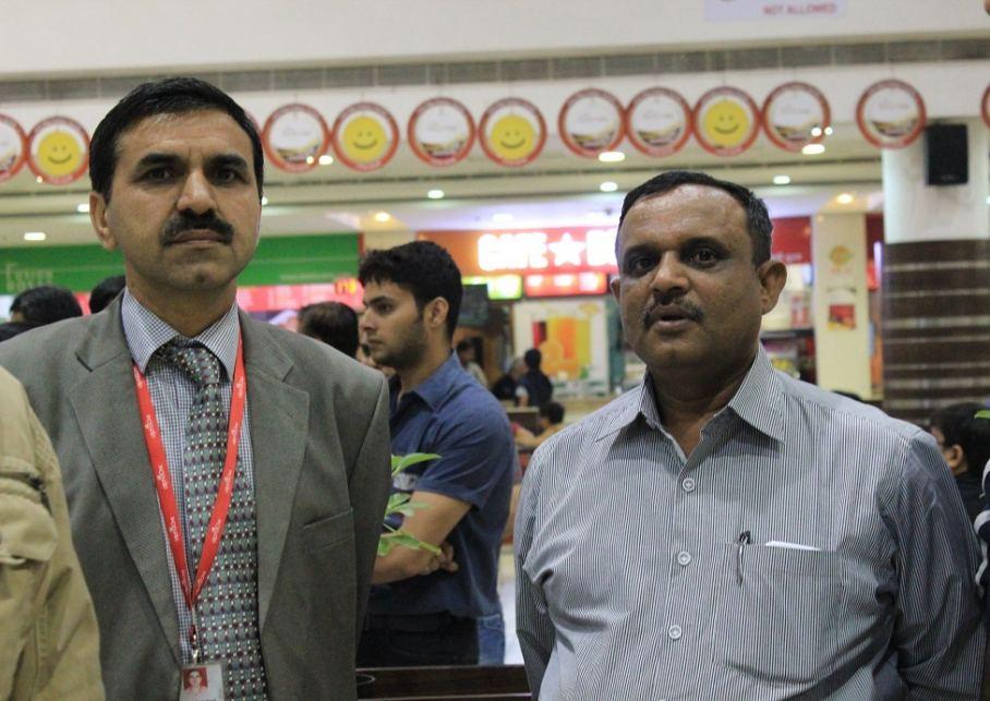 Commander Satyavir Singh, CSO, AlphaOne with DCP,