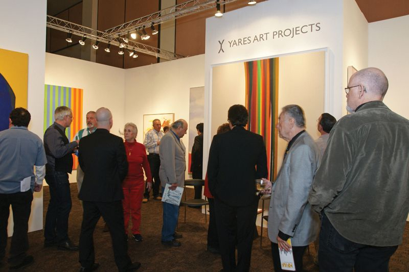 2013 Palm Springs Fine Art Fair drew over 12,000 attendees