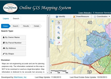Culpeper, VA GIS System by SiteVision