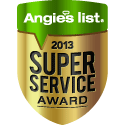 Sue's Pet Pampering has won the Super Service Award from Angie's List