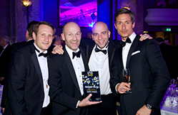 Union Street Technologies Celebrate National Comms Award