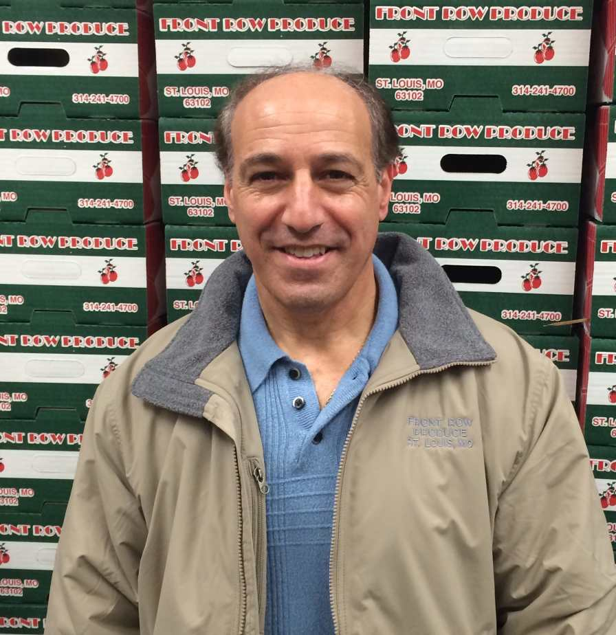 Front Row Produce's president Anthony Pupillo, Sr.