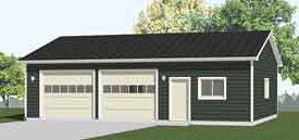 Garage Plan 1200-1hdr by Behm Design